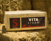 Straw bale sample